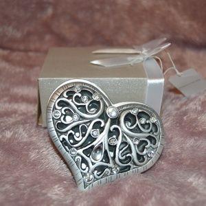 Jewelry - Heart Shaped Jewelry Box